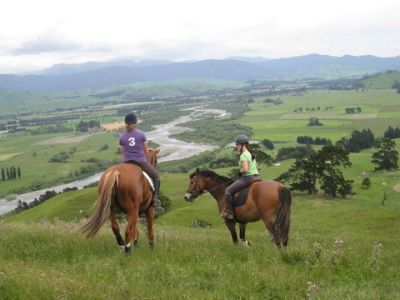 Riding in Wairarapa
