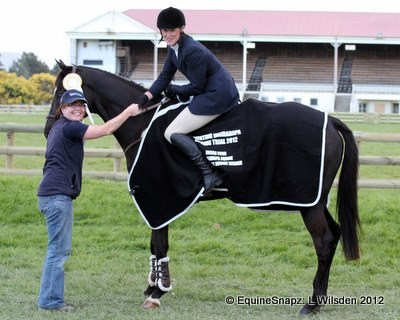 Congratulations at the Eventing Wairarapa Spring Trial!